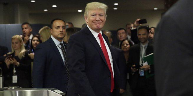 特朗普就任後首次亮相聯合國 出席機構改革會議