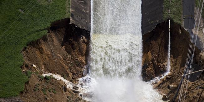 """颶風""""瑪利亞""""致波多黎各水壩潰決 7萬人疏散"""