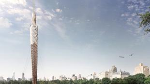 中央公園將建世界最高木塔 是觀景臺又是過濾係統