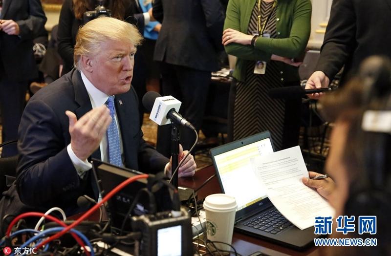 特朗普和彭斯白宮參加節目向平民推銷稅改