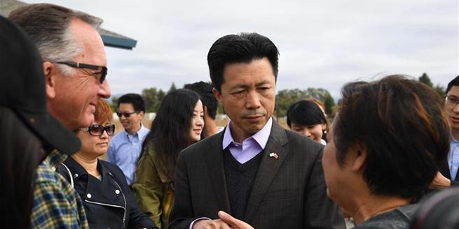 中國駐舊金山總領館慰問加州火災災區華人華僑