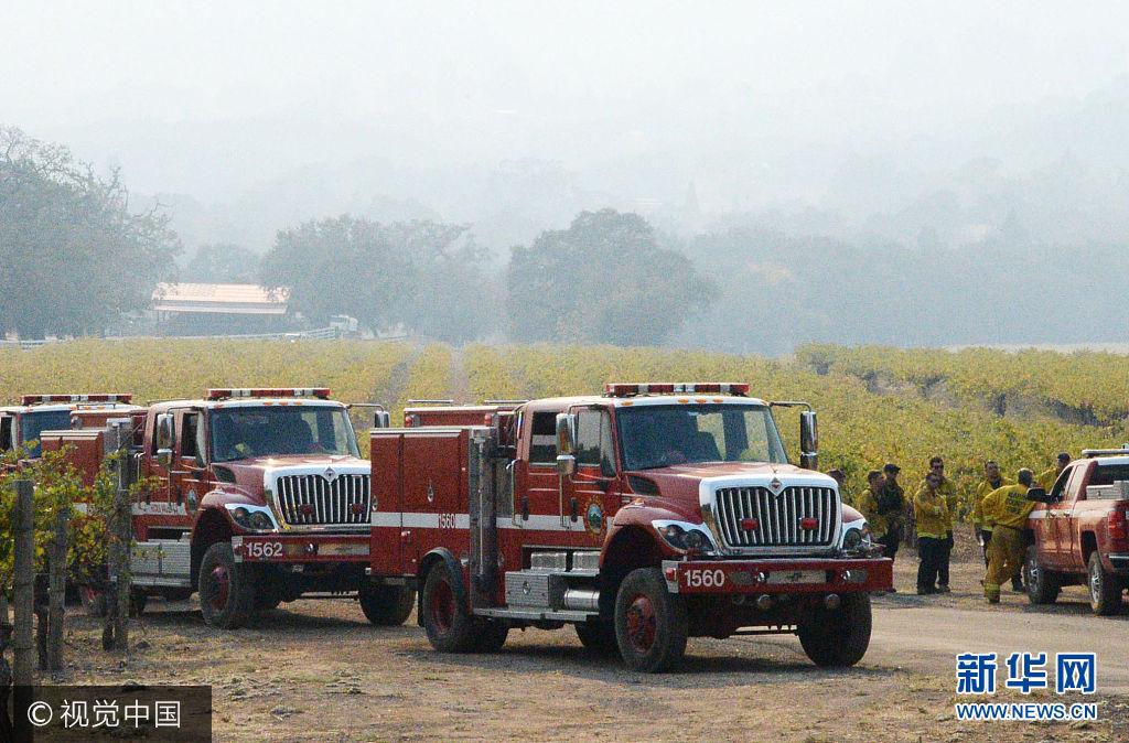 美加州山火29人遇難 過火面積770平方公裏