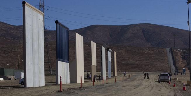 美墨邊境墻8種原型完工