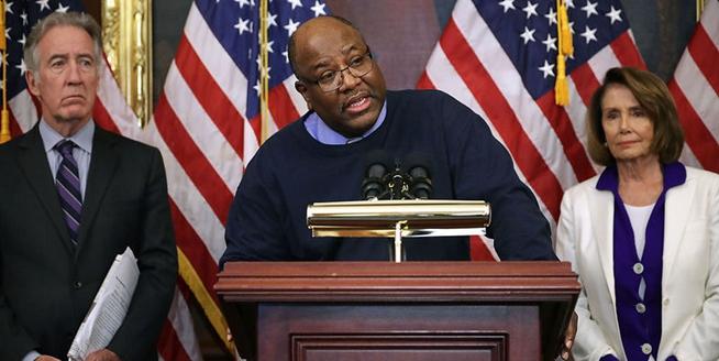 美眾院少數黨領袖召開記者會反對稅改