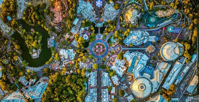 攝影師航拍洛杉磯與紐約風光 展現城市震撼幾何