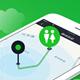 """美媒:中國推出""""尋廁App"""" 幫遊客解決內急"""