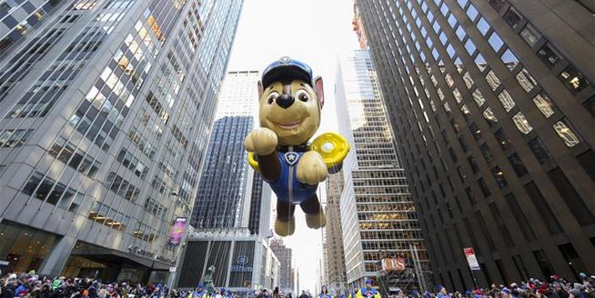 紐約舉行2017感恩節大遊行