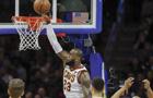 NBA常規賽:騎士大破76人
