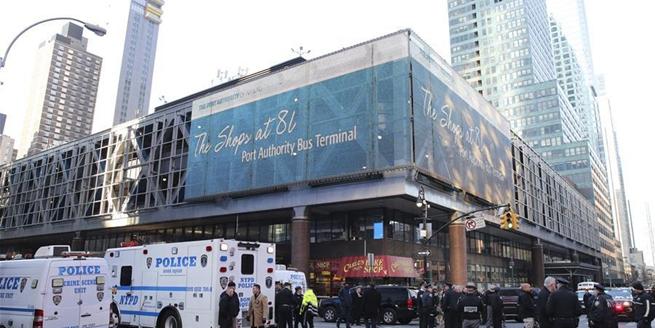 紐約曼哈頓客運站發生爆炸 1名嫌疑人被捕