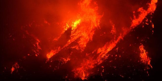 美國加州大火再升級 燒毀面積超過紐約波士頓之和