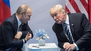 普京記者會剛讚完特朗普 又與其電話會談