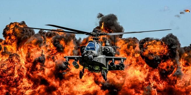 美國陸軍發布2017年度圖片 場景震撼似電影大片