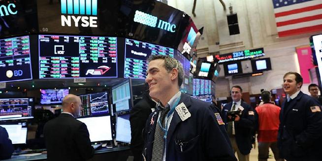 紐約證券交易所迎來新年開市第一天