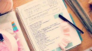 睡前寫下待辦事項清單或助盡快入睡