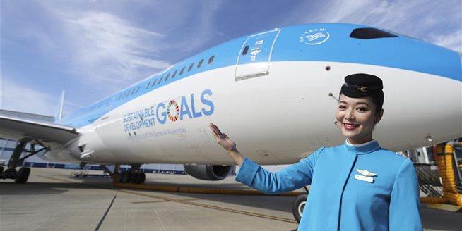 聯合國特殊涂裝飛機交付廈航