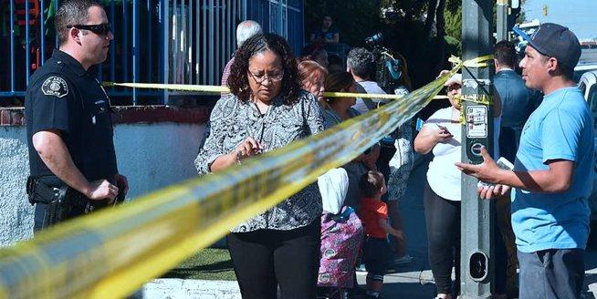 美國洛杉磯中學發生槍擊事件 2名學生送醫傷情不明