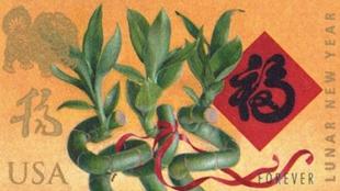 美郵政局推出狗年郵票慶祝農歷新年