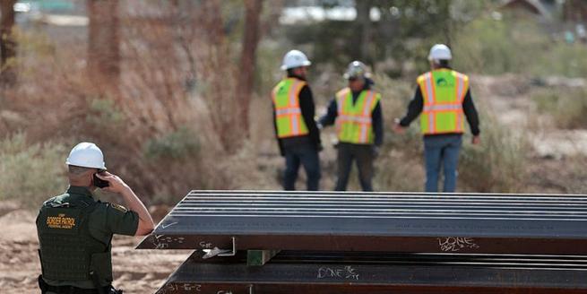 美國政府啟動美墨邊境隔離墻更換工程