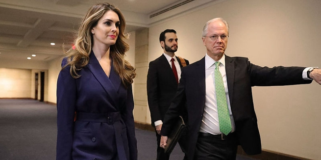 美國白宮通信主任接受眾議院涉俄調查質詢