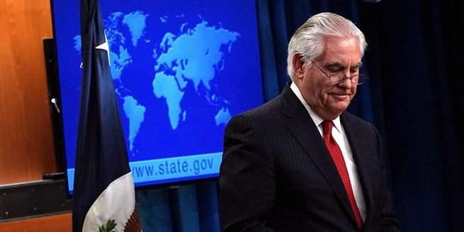 美國國務卿蒂勒森被解職後發表講話