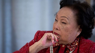 陳香梅女士在美國逝世