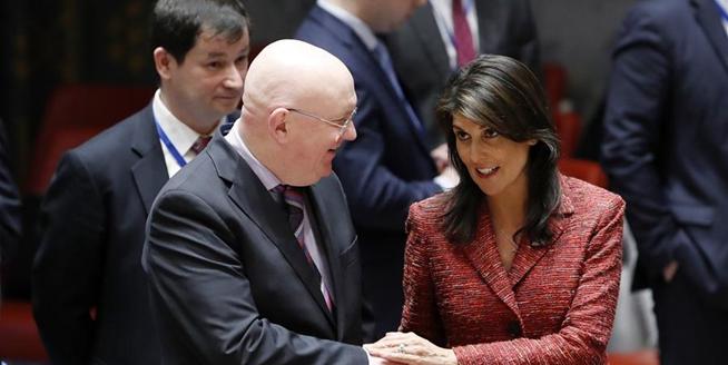 安理會未通過美俄分別起草的敘化武襲擊相關決議草案