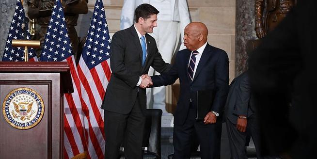 美國會舉行紀念馬丁·路德·金遇刺50周年紀念儀式