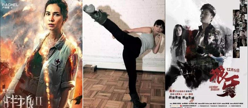 《戰狼2》女主——中美混血兒盧靖姍大揭秘