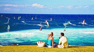 夏威夷野餐 不僅流連海岸線