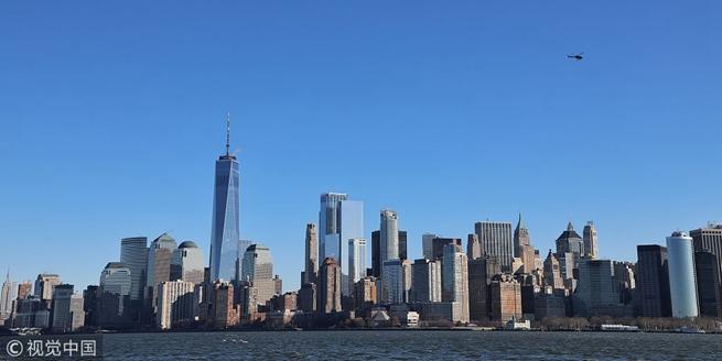 海上空中拍攝紐約全貌 各式經典建築經在眼前